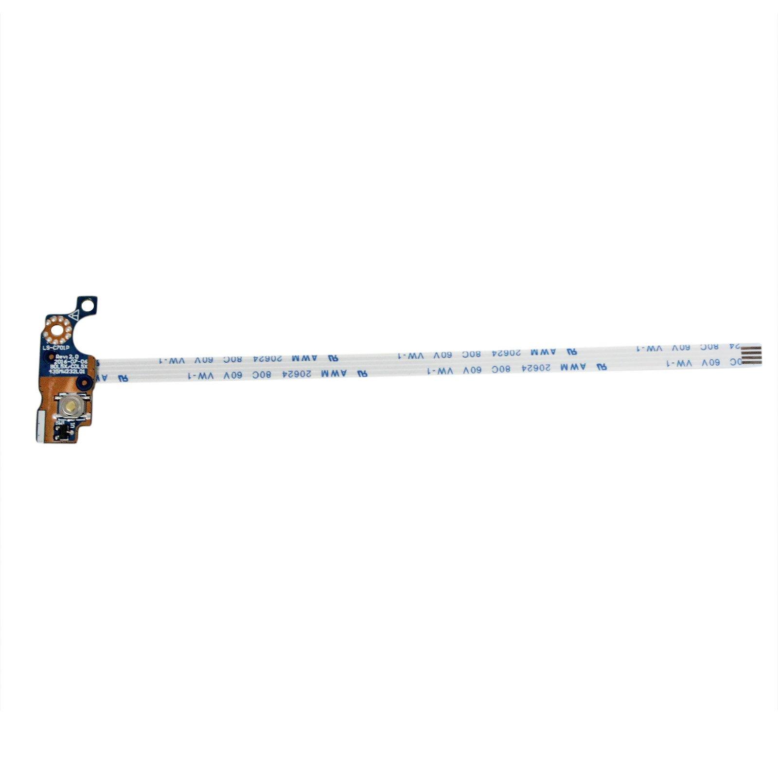 Boton encendido para HP 15-ay028ca 15-ay041wm 15-ay043ca 15-