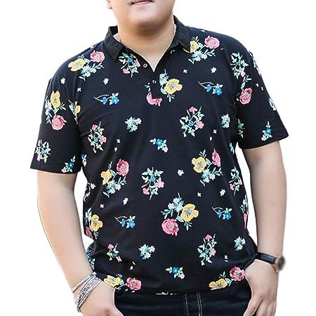 NDHSH Camisas Polo para Hombre Manga Corta de algodón Tallas ...