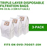 OVO Triple Layer Disposable Filtration Bag