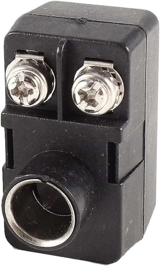 TOOGOO£¨R£©2 x Push-On Antena Coincidencia de Transformador 300/75 Ohm TV F Adaptador Coaxial