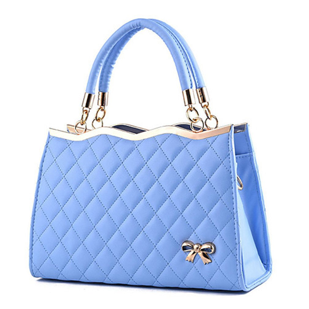 Tanling Women's Bags PU Tote Ruffles For Wedding Shopping Casual Formal Office & Career Outdoor All Seasons Red Pink Wine Light Blue Royal Blue