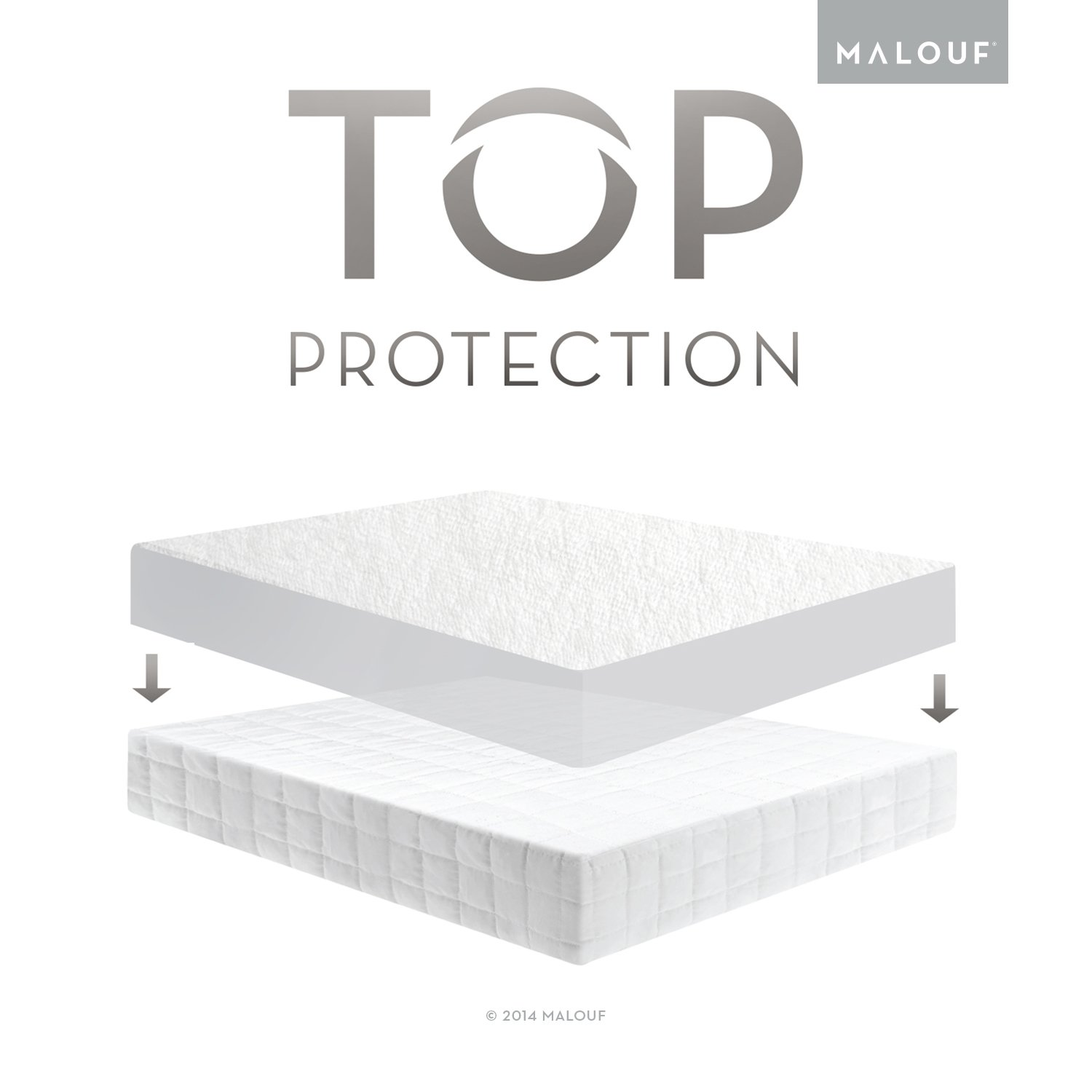 amazon com sleep tite hypoallergenic 100 waterproof mattress