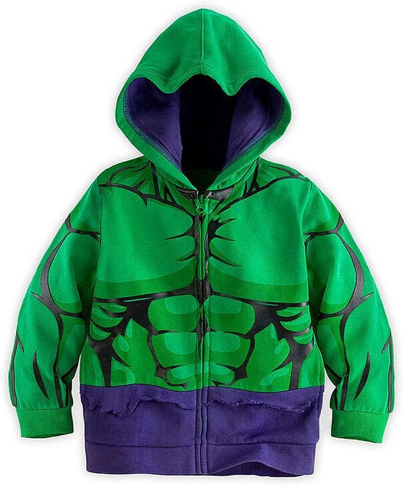SgaSong Hoodies Superhero Iron Man Hulk Captain America Spiderman Sweatshirt for Boys