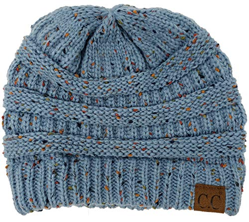 Funky Junque CC Confetti Knit Beanie Thick Soft Warm Winter Hat Unisex ... 3fc157a1a584