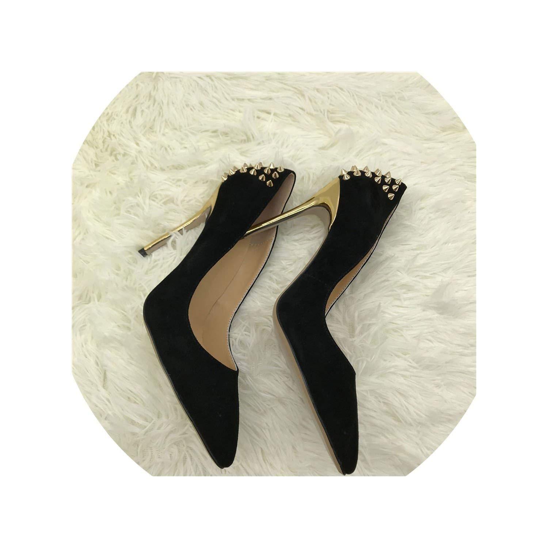 Black mostand heeled-sandals high Heels Classics Nightclub
