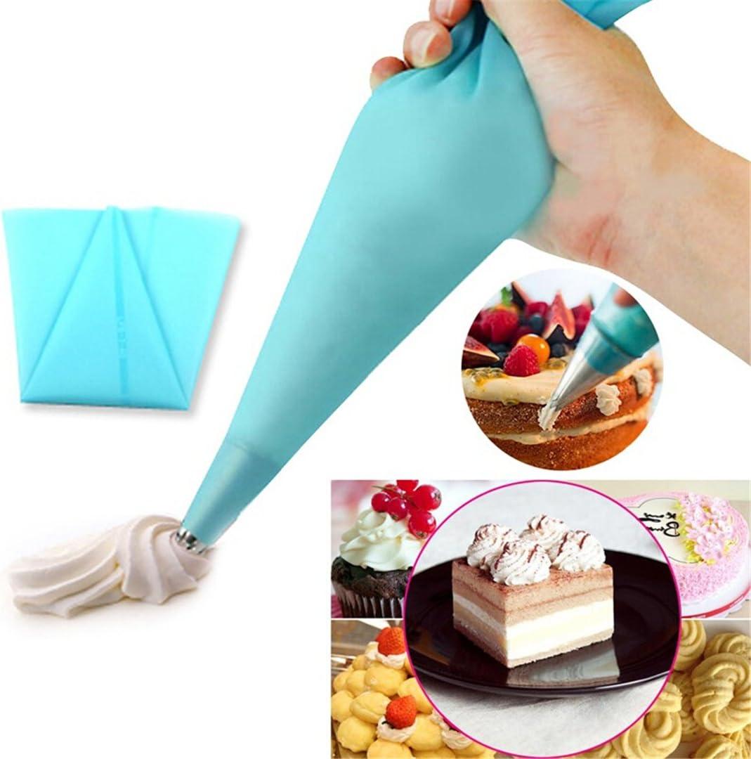 /Bulk kit pour G/âteaux 100/Pi/èces jetables P/âtisserie Sacs Extra /épais pour D/écoration de G/âteaux Gla/çage Sacs/ Biscuits FantasyDay 40,6/cm Poches /à Douille jetables Cupcakes