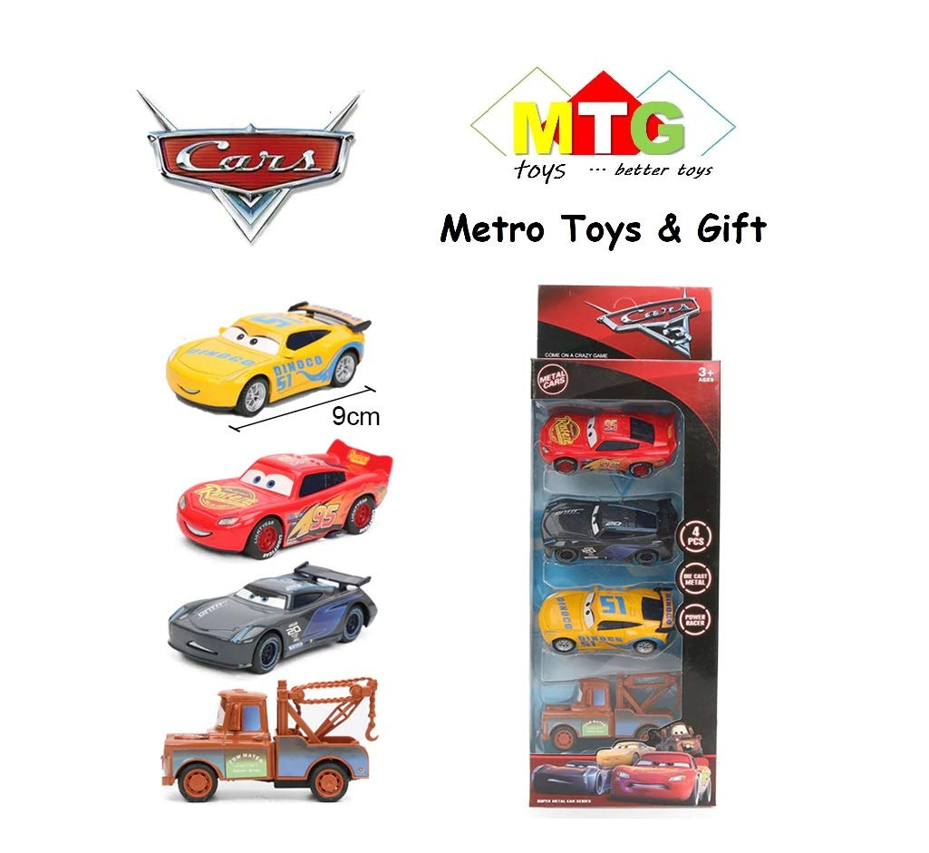 Metro Toy S Gift Metal Master Cars3 Die Cast With Pull Back