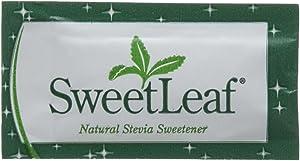 Sweetleaf Stevia Sweetener Packets 70 Ct - 2 Pack Zero Calorie Sugar Substitute