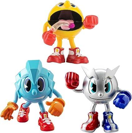Pacman - Figuras Tripack Aventura: Pacman 4, Ice Pac, Metal Pac ...