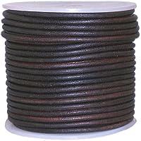 Cables Craft–Cordón de piel redondo para las mujeres