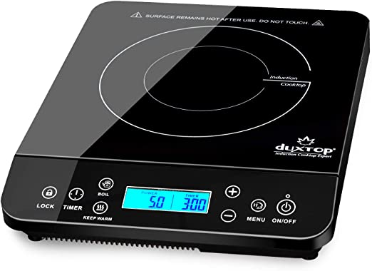 Amazon.com: Duxtop - Placa de inducción (1800 W): Kitchen ...