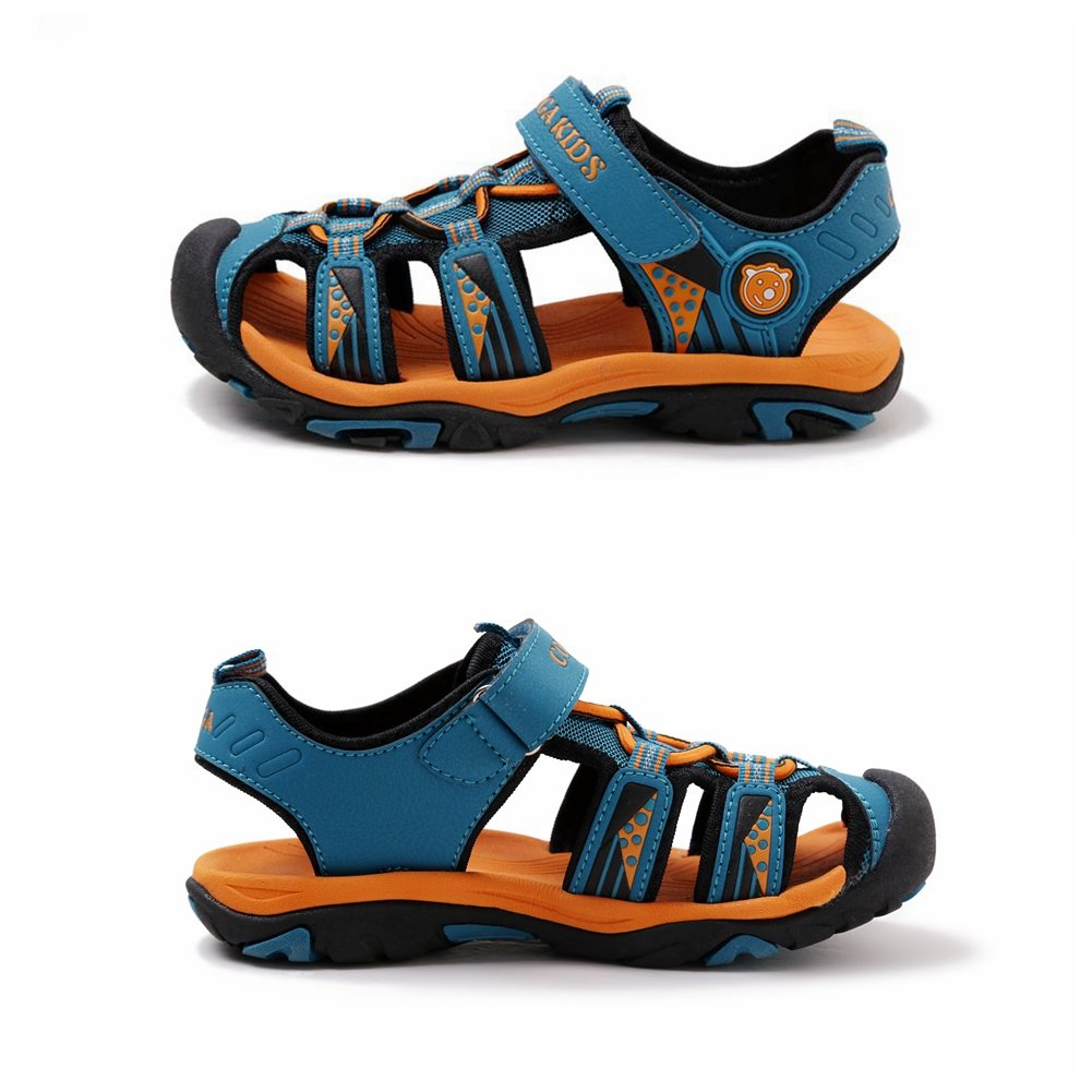 e3964de55 Sandalias Cerradas Velcro Niño Zapatillas Verano Zapatos Niña Deportivas  Senderismo Trekking Playa Agua Unisex: Amazon.es: Zapatos y complementos