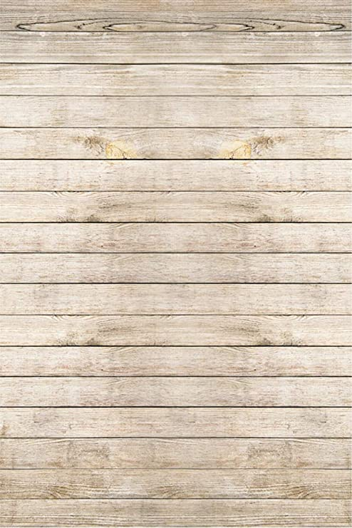 YonCog Studio Photo Backgrounds Durable Wood Backdrop Vintage Wooden Floor Photo Backdrop Studio Props Wall Collapsible Background Cloth for Portrait Video Shooting Wedding Photo