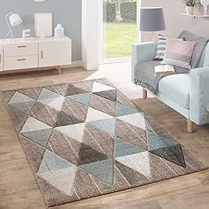 Alfombra de dise o moderna contorneada en colores pastel - Alfombras dormitorio amazon ...
