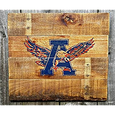 Rustic Handmade Auburn University War Eagle Reclaimed Wooden Pallet Sign
