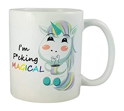 amazon com cute kawaii unicorn mug by seventy one trading gift