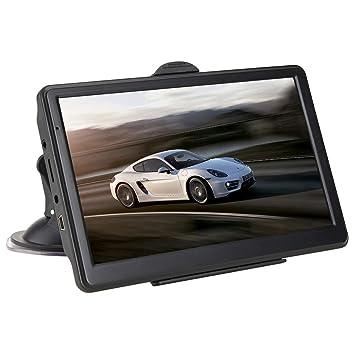 TOOGOO Car GPS Navigator Sistema de Navegación por Voz de 7 Pulgadas HD Presione Pantalla Memoria Incorporada de 8Gb Memoria de Funcionamiento 256Mb Driving ...