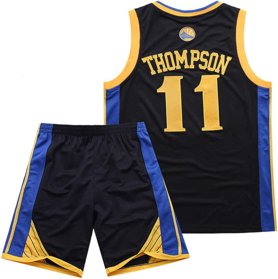 M C S Baloncesto Jersey Warriors 11 Thompson Summer Comfort Set