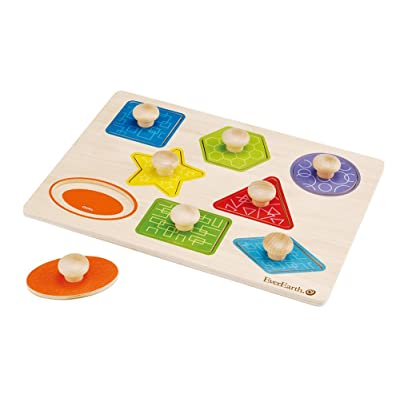 EverEarth - Pull Out Shape Puzzle (EE33301): Toys & Games