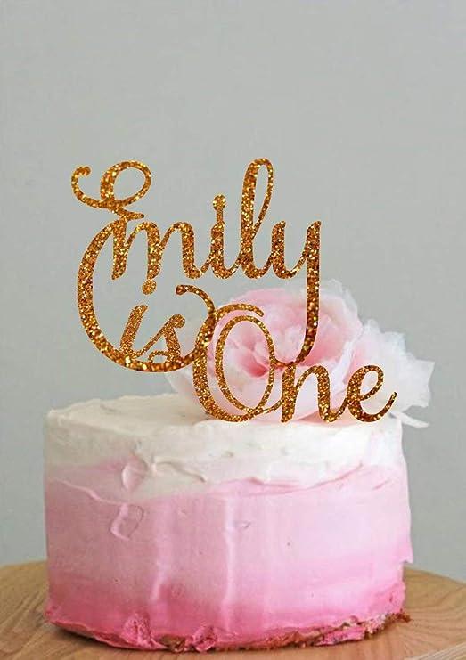 Decoración personalizada para tarta de cumpleaños ...