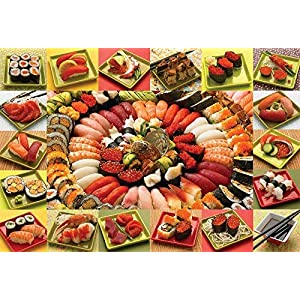 Cobblehill 50708 2000 Pc Abbondante Sushi Puzzle Vari