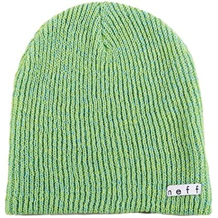16a9f69623c Amazon.com  NEFF Daily Heather Men s Beanie Outdoor Hat - Tennis Cyan   One  Size  Automotive
