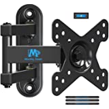 Mounting Dream Full Motion Monitor Wall Mount TV Bracket for 10-26 Inch LED, LCD Flat Screen TV and Monitor, TV Mount…