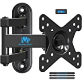 Mounting Dream Full Motion TV Wall Mount Monitor Mount for 10-26 Inches TVs , Monitor Wall Mount with Articulating Arms…
