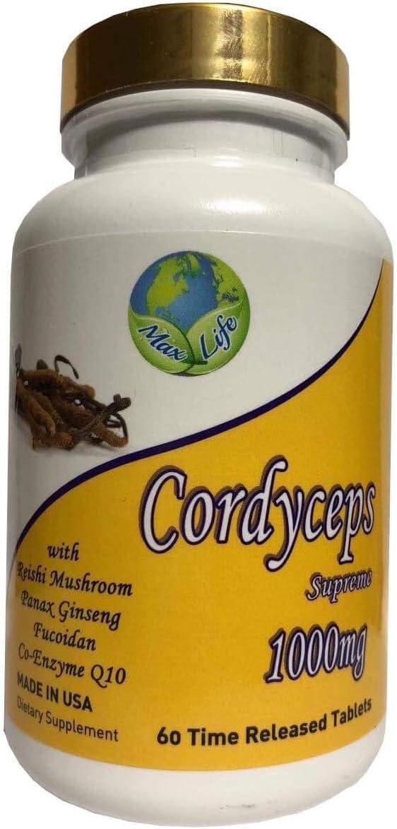 Organic Cordyceps Extract Powder – Energy and Stamina – Immune Support – Non-GMO, Gluten Free, Paleo and Vegan Friendly – 30 g