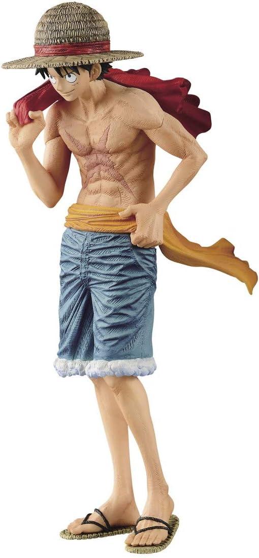 Banpresto One Piece Magazine Cover Vol. 2 Monkey D Luffy Figure Statue