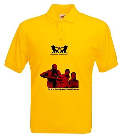 2014 GALATASARAY camiseta- Kuekreyen Aslan - Kral Taraftar - MELO TERIM MUSLERA - oro,