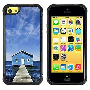 Licase Funda Carcasa protectora - Lake Chalet - Apple Iphone 5C