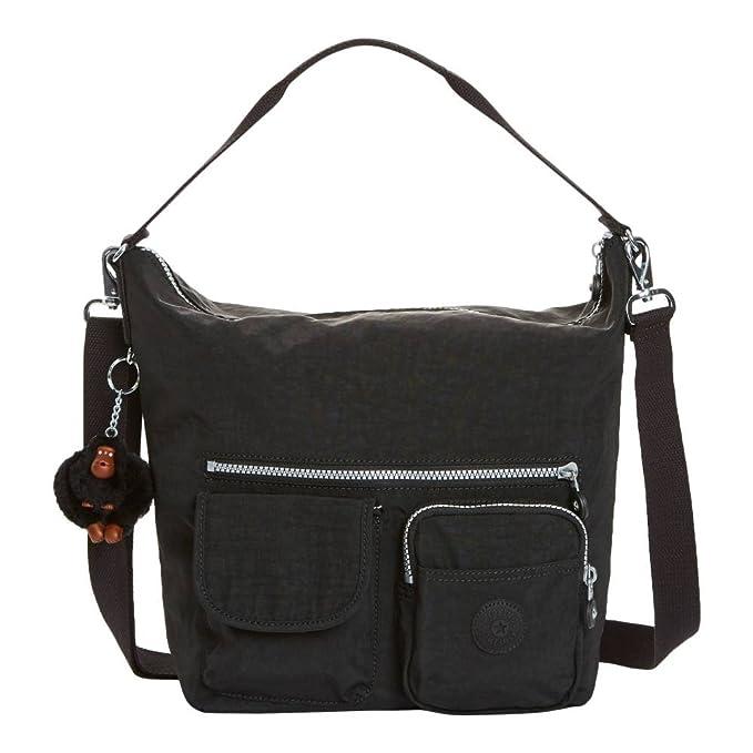 Amazon.com: Kipling Archie sólido bolso, negro, talla única ...