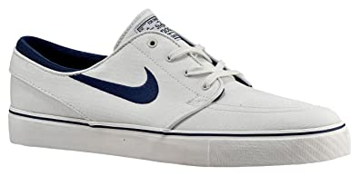 Nike Men's Zoom Stefan Janoski Skate Shoe Summit White/Obsidian/University  Red/White