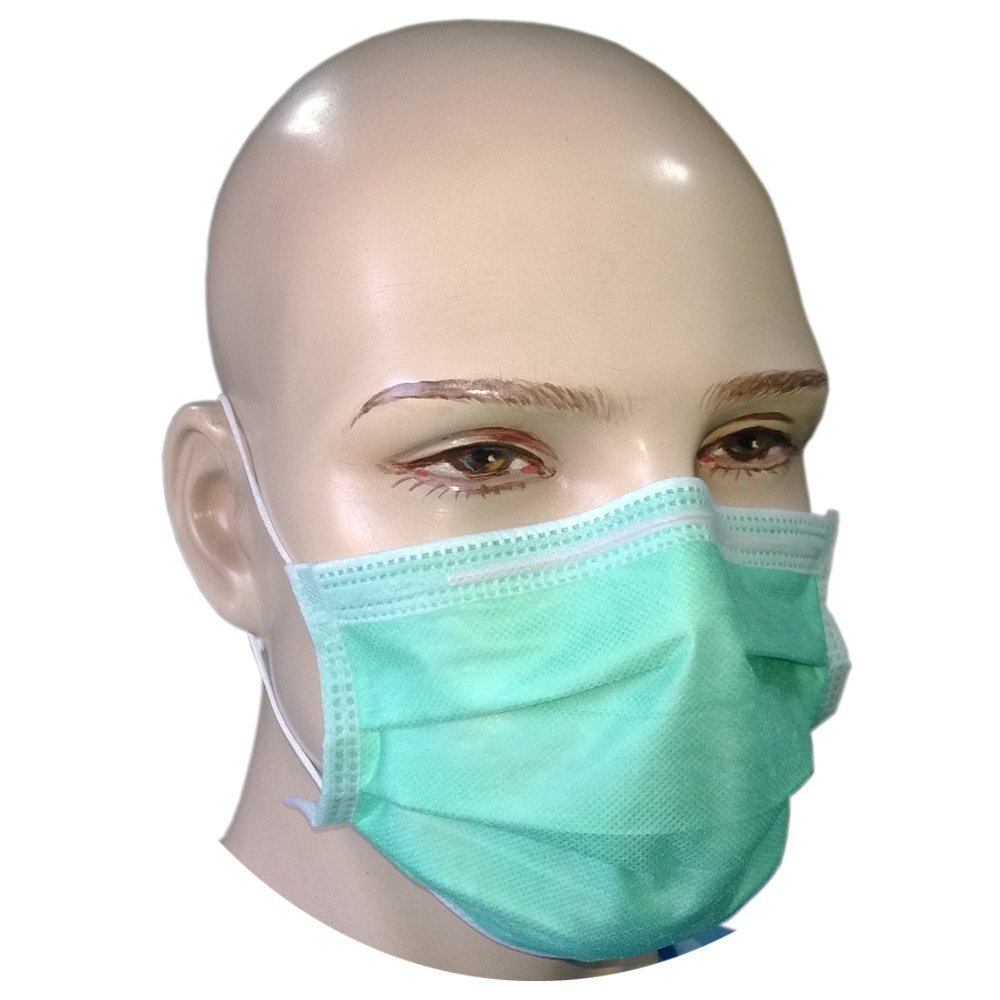 Surgical Face 4-ply Mask - gt; bfe Pcs 50 98 Loop Tt-4gem Filtra Ear Green