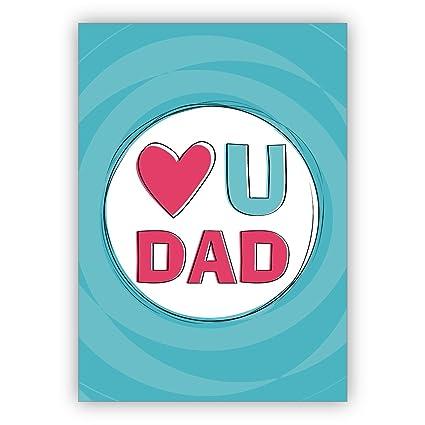 Tarjeta de amor para papá: para el día del padre, cumpleaños ...