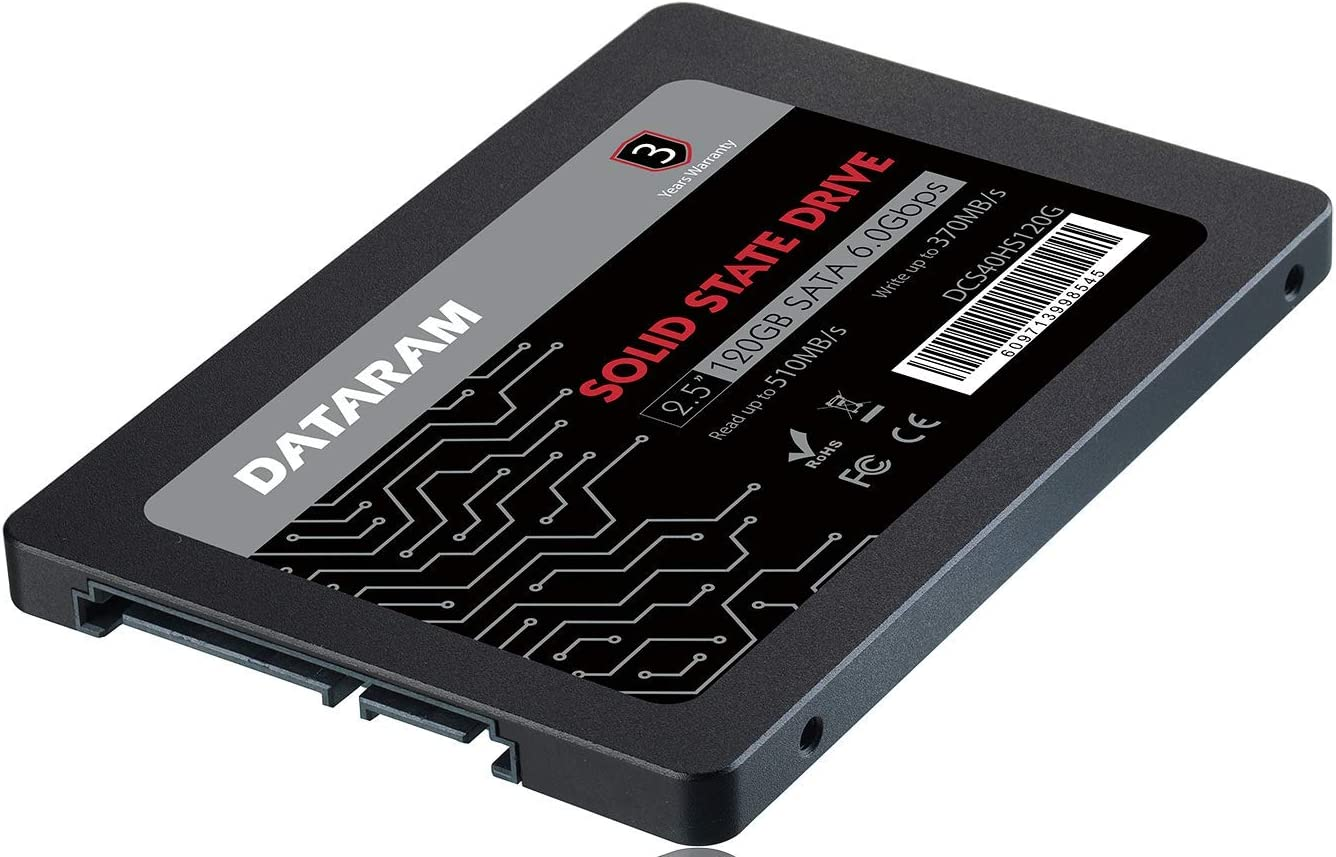 DATARAM 120GB 2.5 SSD Drive Solid State Drive Compatible with GIGABYTE SABREPRO 15