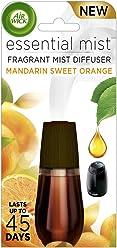 Air Wick Essential Oils Diffuser Mist Refill, Mandarin & Sweet Orange, 1ct