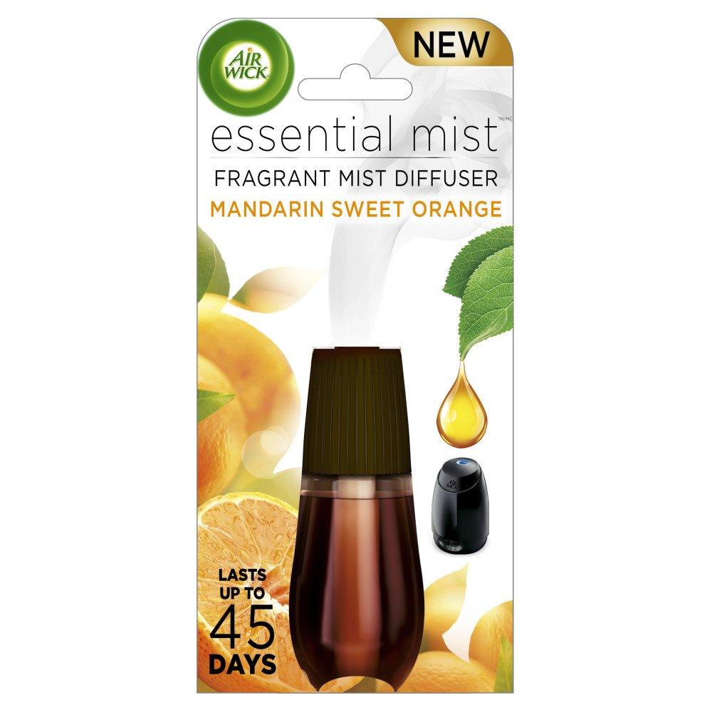 Air Wick Essential Oils Diffuser Mist Refill, Peony & Jasmine, 1ct Reckitt Benckiser