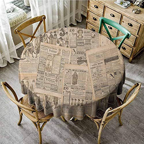 Rank-T Round Tablecloth Theme 55