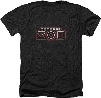 Superman ZOD - Camiseta de manga corta para adulto, diseño con logo de Superman - Negro - Large: Amazon.es: Ropa y accesorios