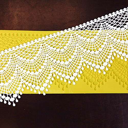 Tiered Elegance Lace 3-D Silicone Lace Mat by Chef Alan Tetreault by ALAN TETREAULT SELECT PRODUCTS (Image #2)