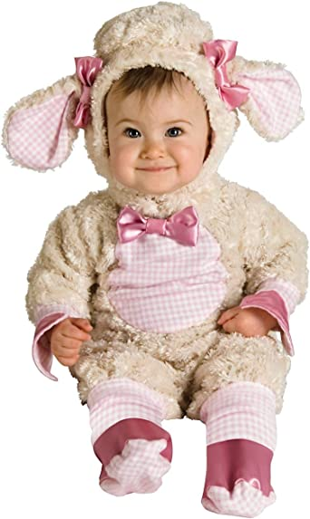 Rubies 885827 Baby Pink Lamb Costume 6-12 Months