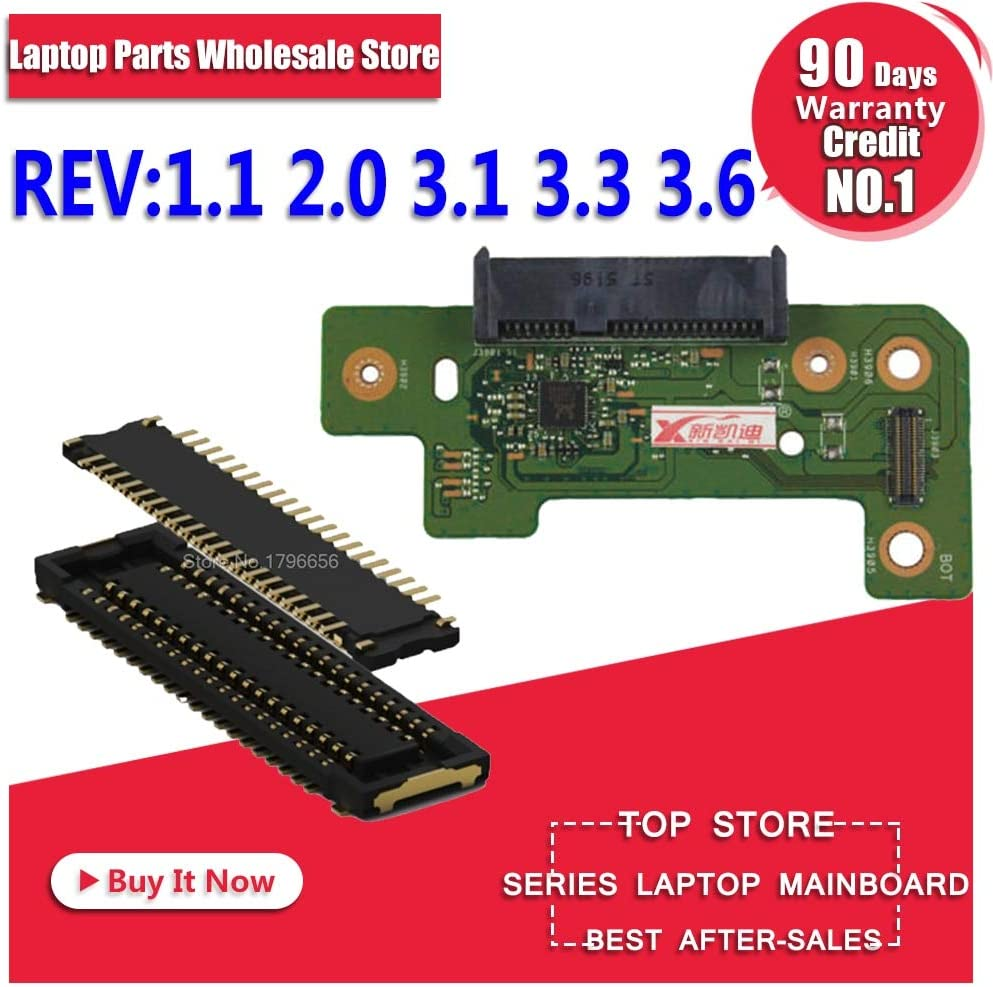 Cable Length USB Board REV 2.0 ShineBear for ASUS X555LD K555L A555L X555LJ R556L X555LB X555LP F555L X555LN Interface and HDD Hard Drive Board and IO USB Audio