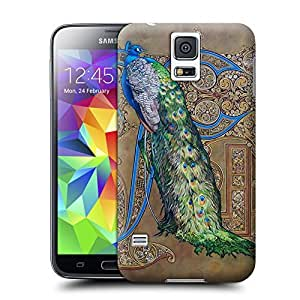 Unique Phone Case Peacock and Phoenix-03 Hard Cover for samsung galaxy s5 cases-buythecase