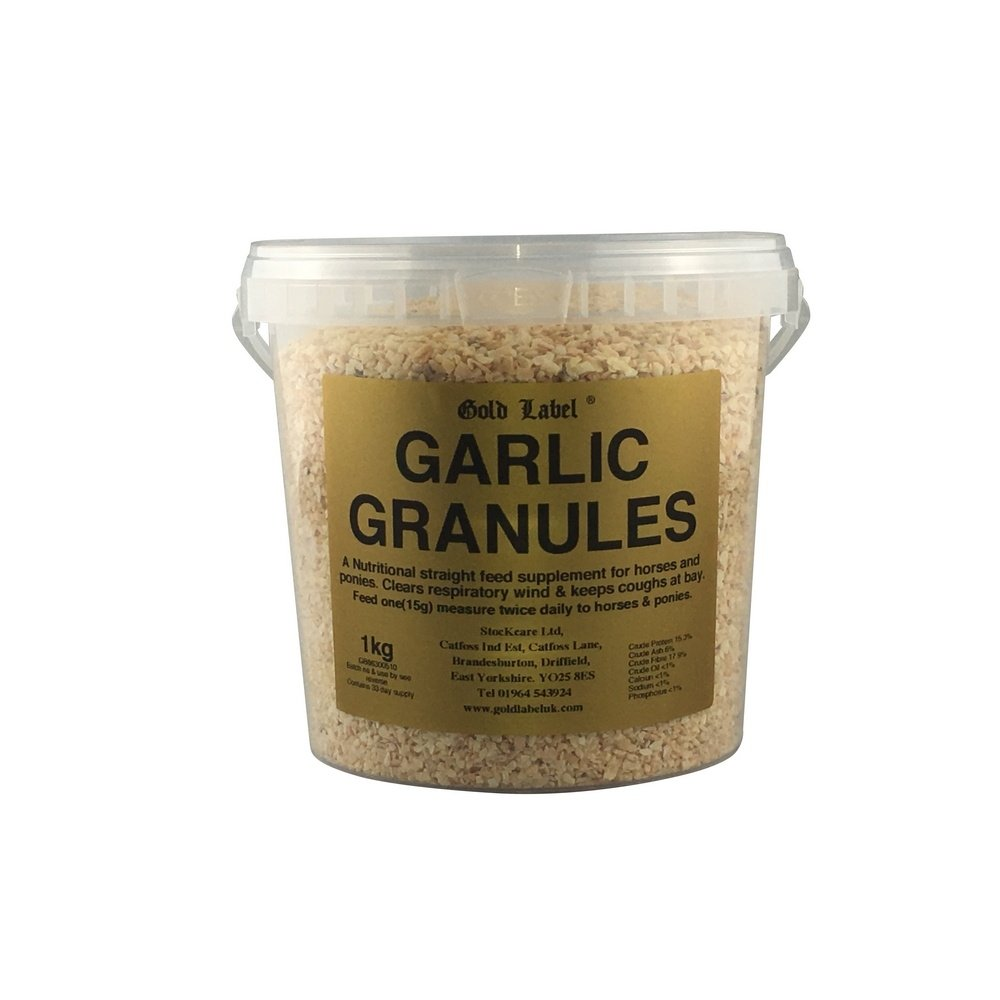 Gold Label Garlic Granules (3lb) (May Vary) by Gold Label