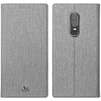 info for bcb4e 83ccb Simicoo OnePlus 6 Flip PU Leather Slim Fit case Card Holster Stand Magnetic  Cover Clear Silicone TPU Full body Shockproof Pocket Thin Wallet Case for  ...