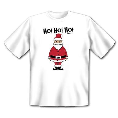 Ho Ho Ho Frohe Weihnachten.Happy Fun T Shirt Fur Weihnachten Frohe Weihnachten Ho Ho