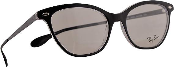 Ray-Ban RB 5360 Gafas 54-18-145 Negras Transparentes Con Lentes De Muestra 2034 RX RX5360 RB5360: Amazon.es: Ropa y accesorios