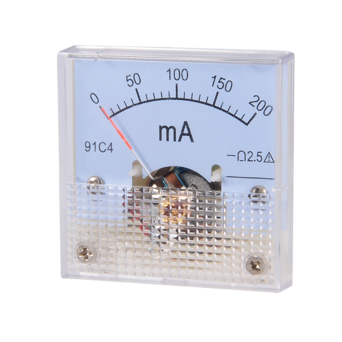 Best Rated In Capacitance Meters Helpful Customer Reviews Circuit Besides Lc Meter Further Capacitor Esr Uxcell 91c4 A Analog Current Panel Dc 200ma Ammeter For Testing Ampere Tester